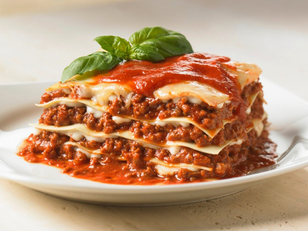Traditional Italian Lasagna Feed Me