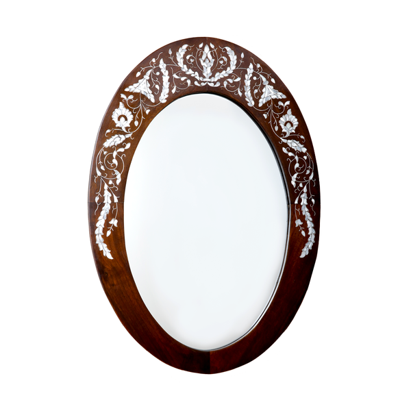 Oval Mirror Frame