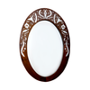 Oval mirror frame 1
