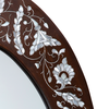 Oval mirror frame 2