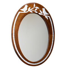 Bird mirror frame