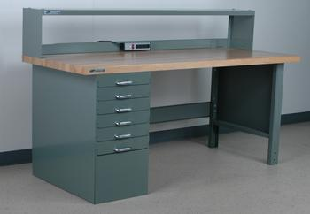 Pedestal Workbenches Image
