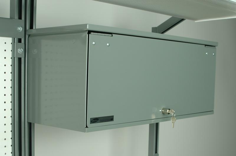 Stackbin Workbenches Overhead Storage Cabinet