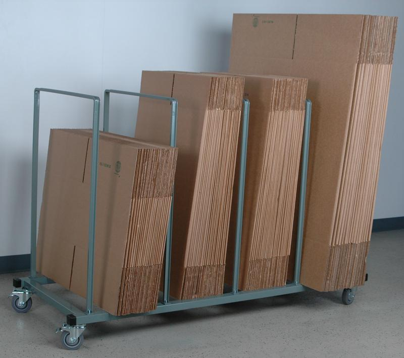 Stackbin Carts Mobile Quot Large Quot Carton Stand