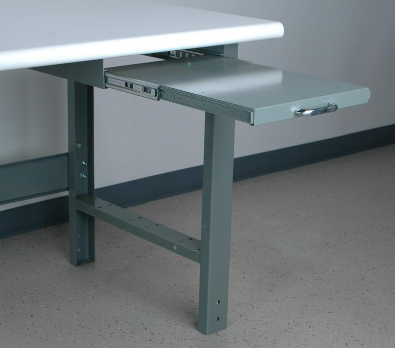 Stackbin Workbenches Pull Out Writing Surface