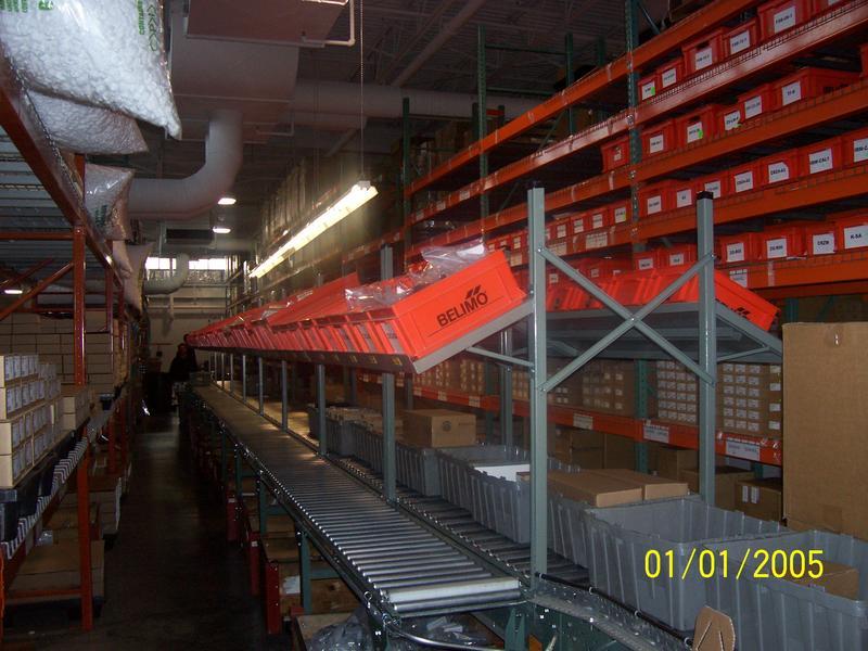 Stackbin Custom Projects Custom Overhead On Conveyor