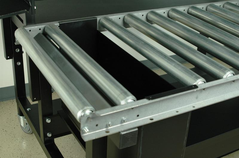 Stackbin Custom Projects Roller Flow Rack With