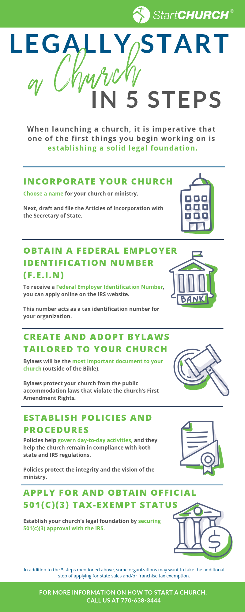 start a church infographic