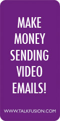 Who is interested in making money sending video email?