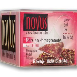 Persian Pomegranate Herbal Infusion Tea by Novus Tea ... Persian Pomegranate Tea