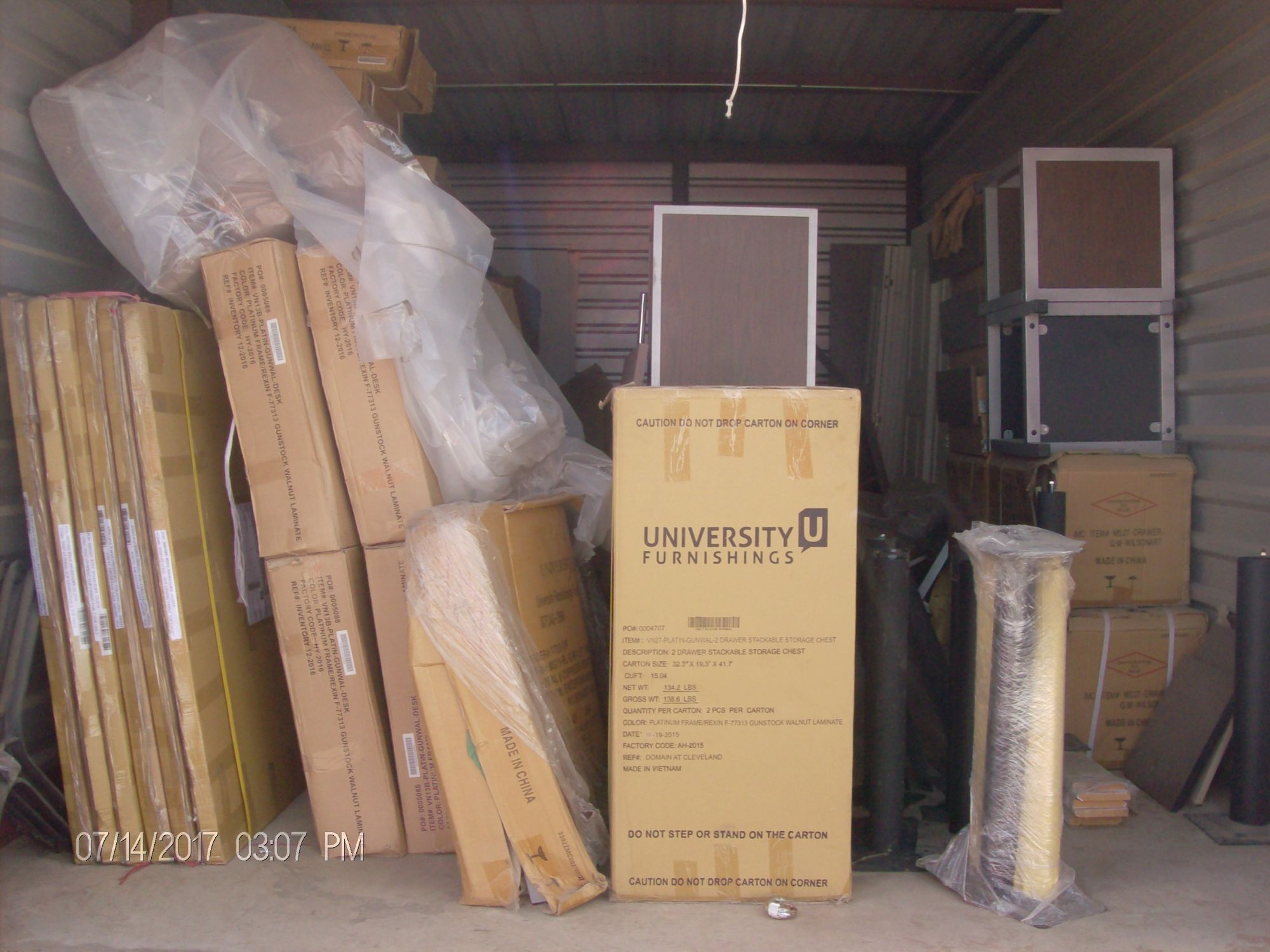 Hover or click & Storage Unit Auction: 518289 | DENTON TX | StorageTreasures.com