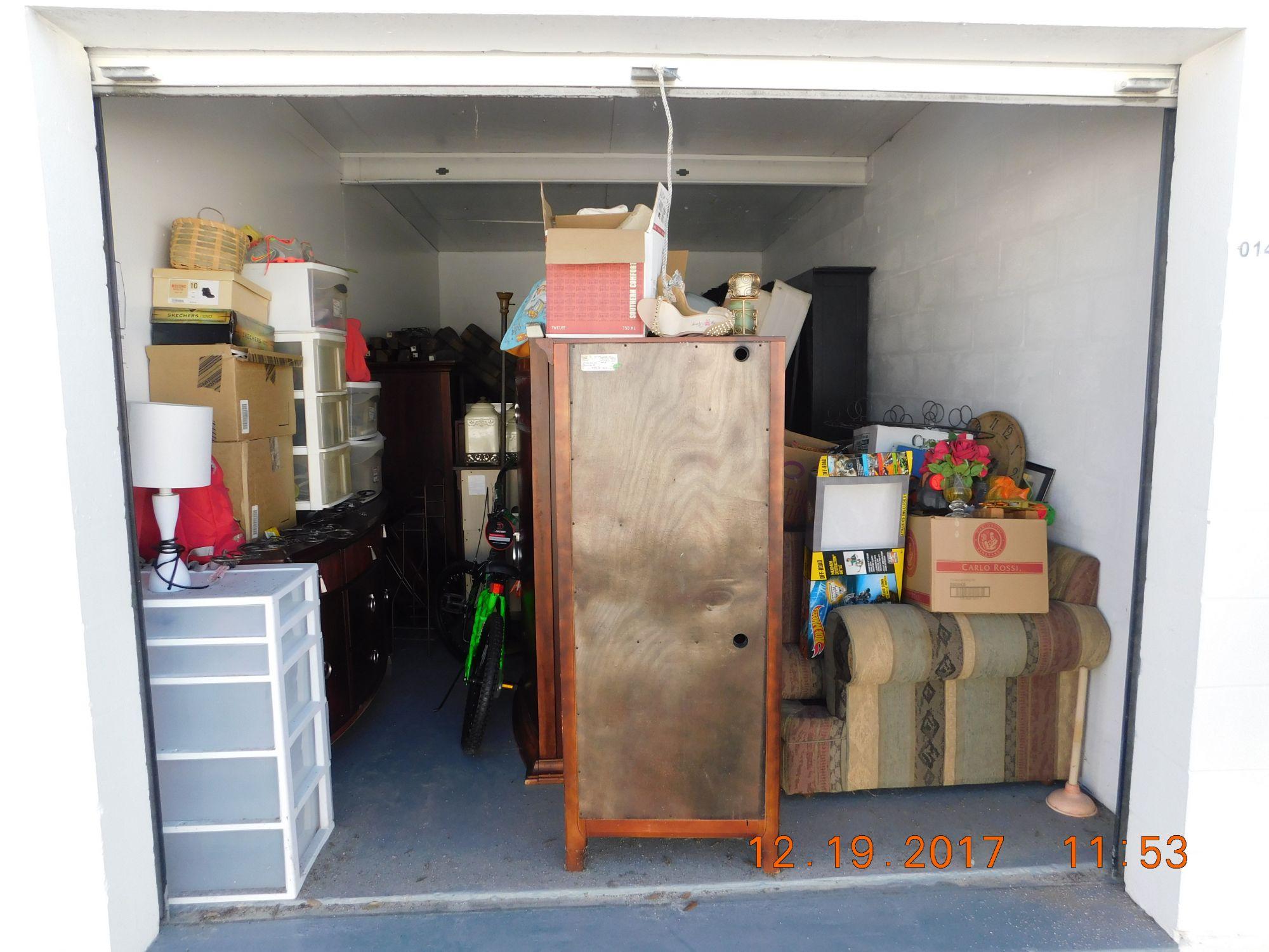 Storage Unit Auction 519189 Sarasota Fl