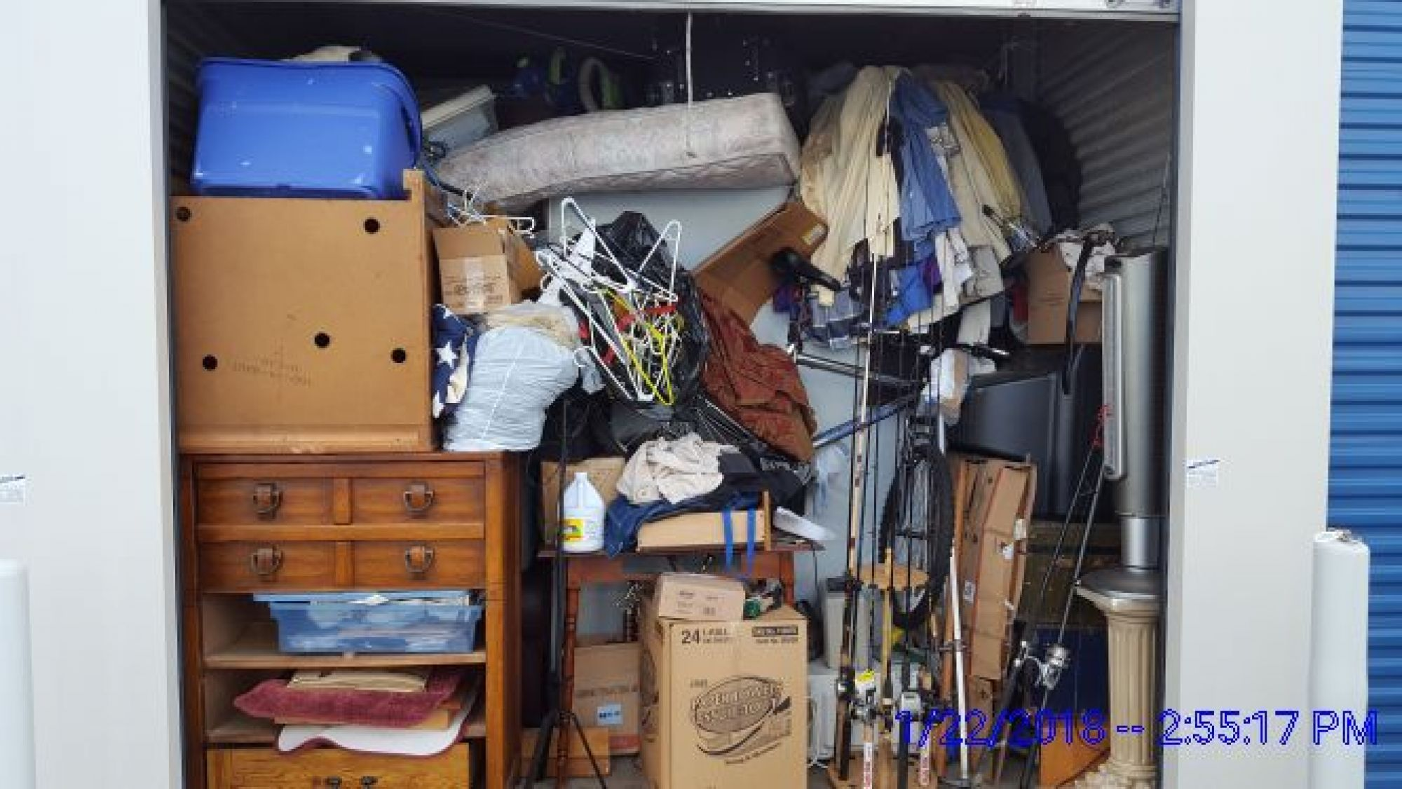Hover or click & Storage Unit Auction: 535478 | EVANSVILLE IN | StorageTreasures.com
