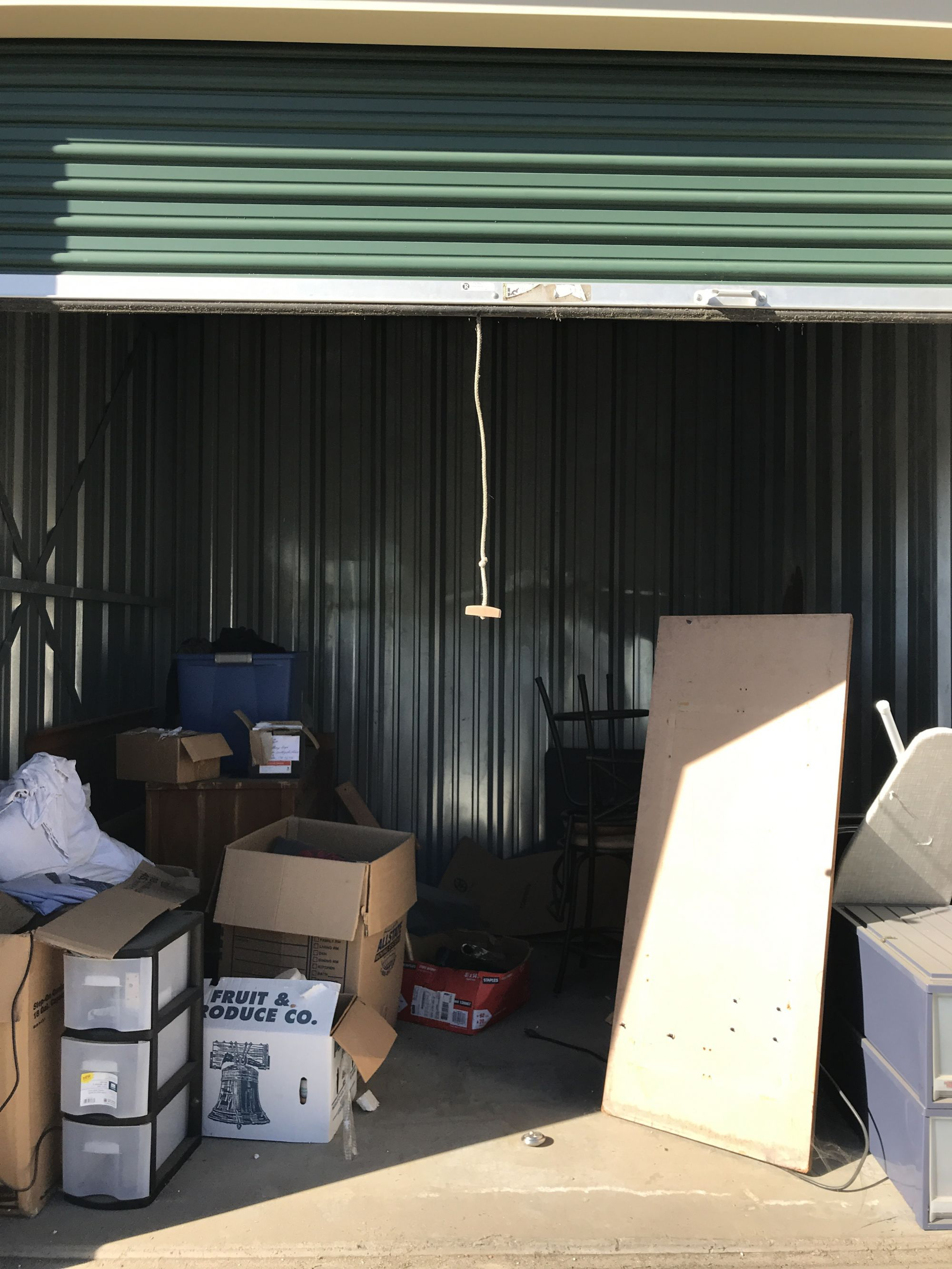 Storage Unit Auction 546111 Yuba City Ca