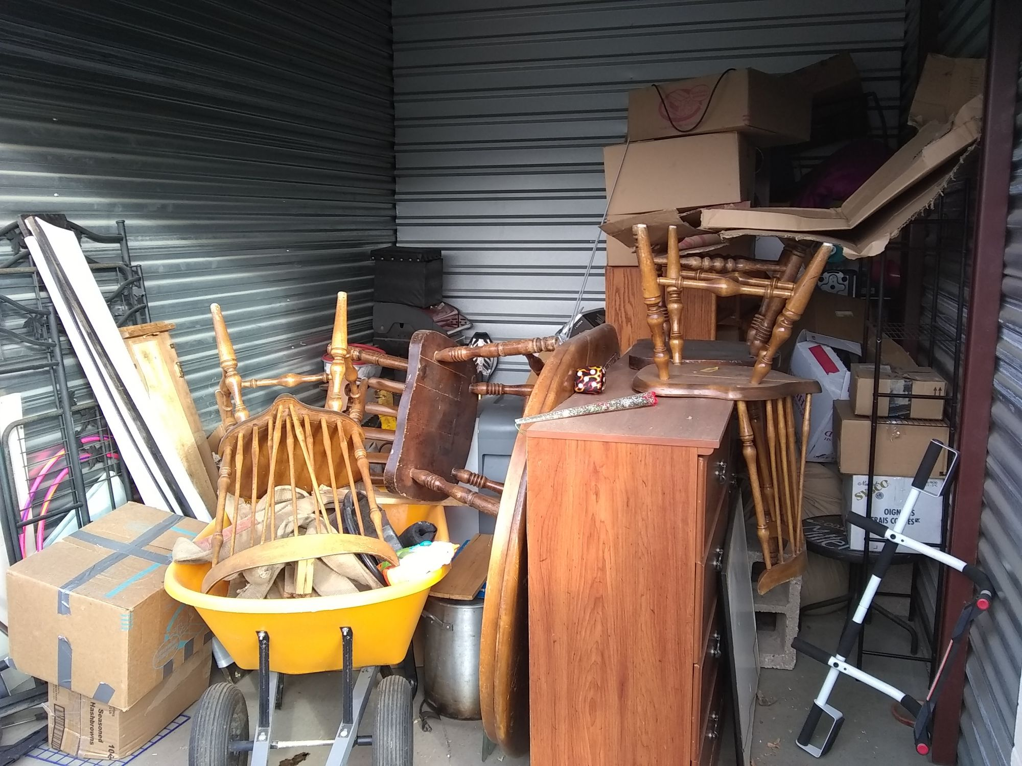 Hover or click & Storage Unit Auction: 551120 | Ogden UT | StorageTreasures.com