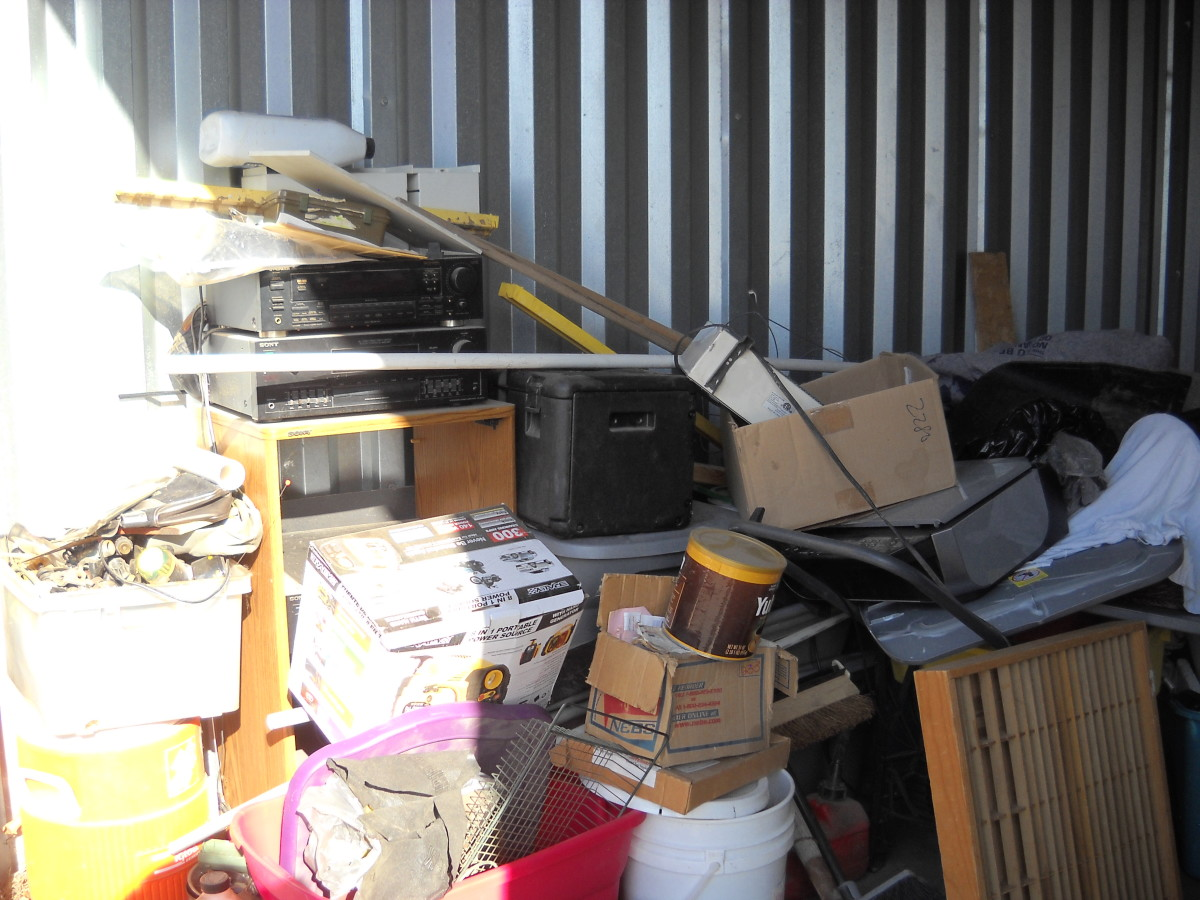 Hover or click & Storage Unit Auction: 577069 | Ogden UT | StorageTreasures.com
