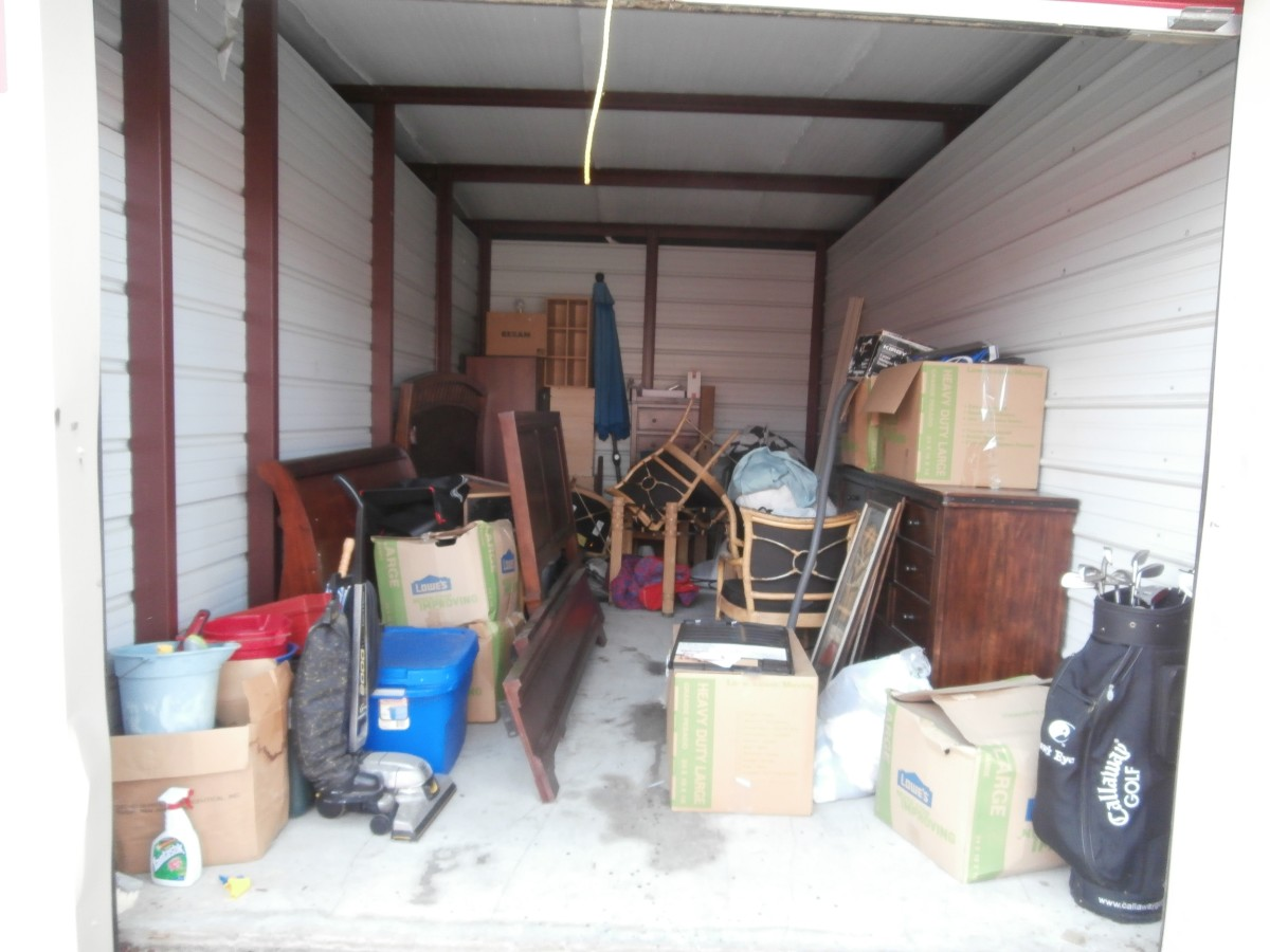 Hover or click & Storage Unit Auction: 578505 | Palm Coast FL | StorageTreasures.com
