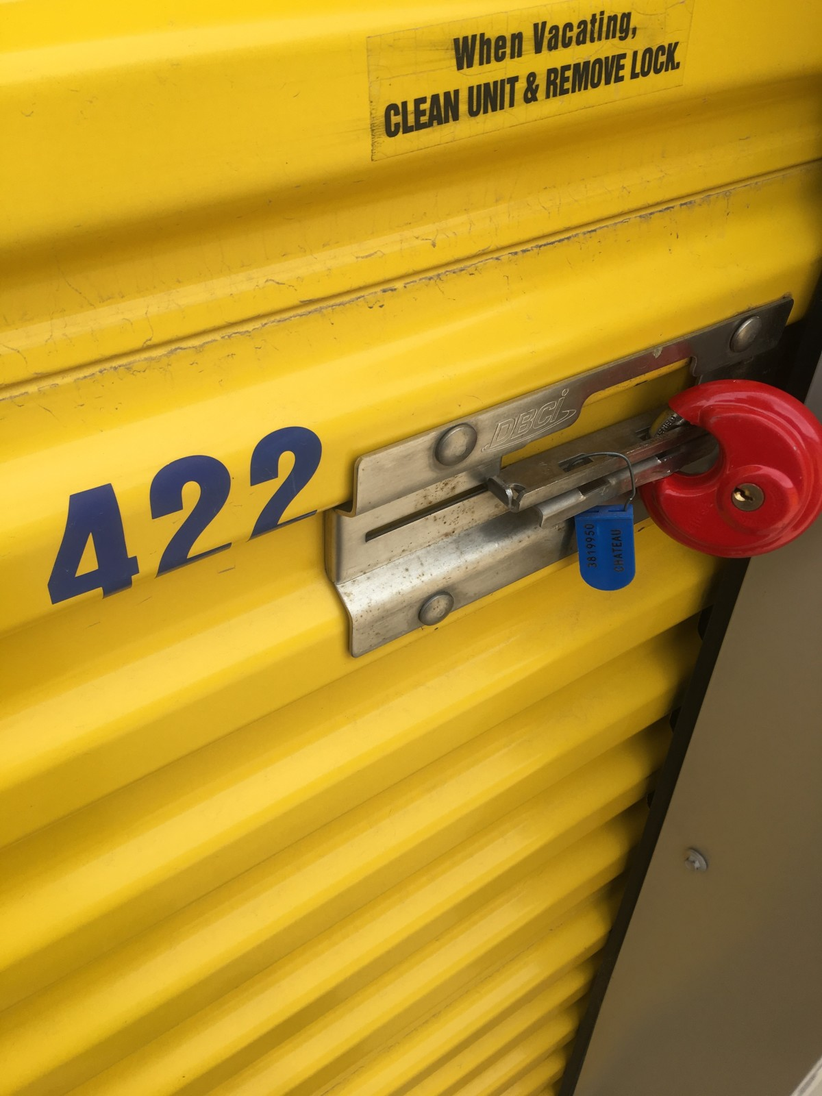 Hover or click & Storage Unit Auction: 597700 | Colorado Springs CO ...