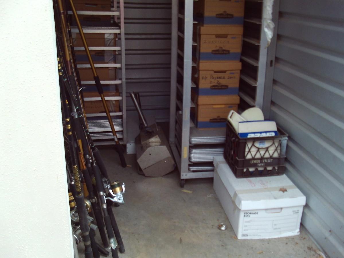 Hover or click & Storage Unit Auction: 627296   ALPHARETTA GA   StorageTreasures.com