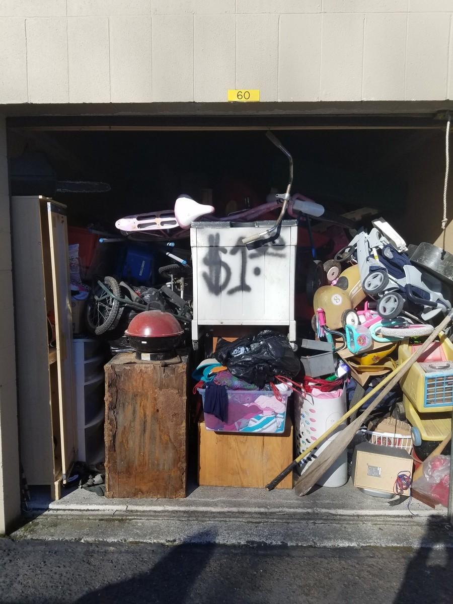 Storage Unit Auction 751997 Camas Wa