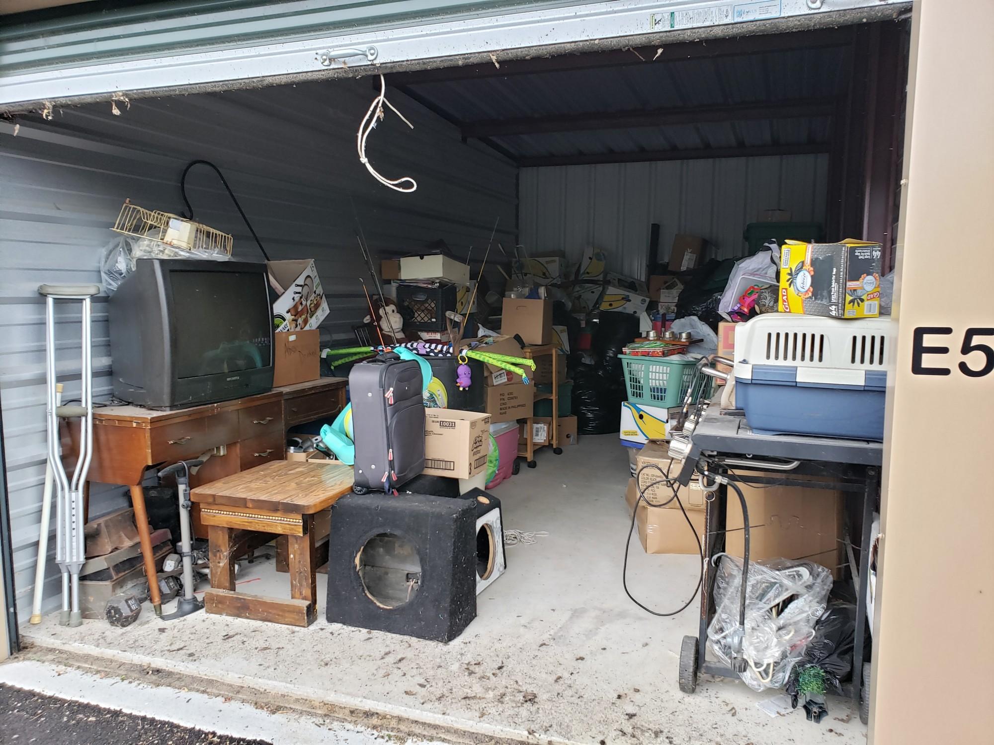 Storage Unit Auction 806468 Greenville Mi