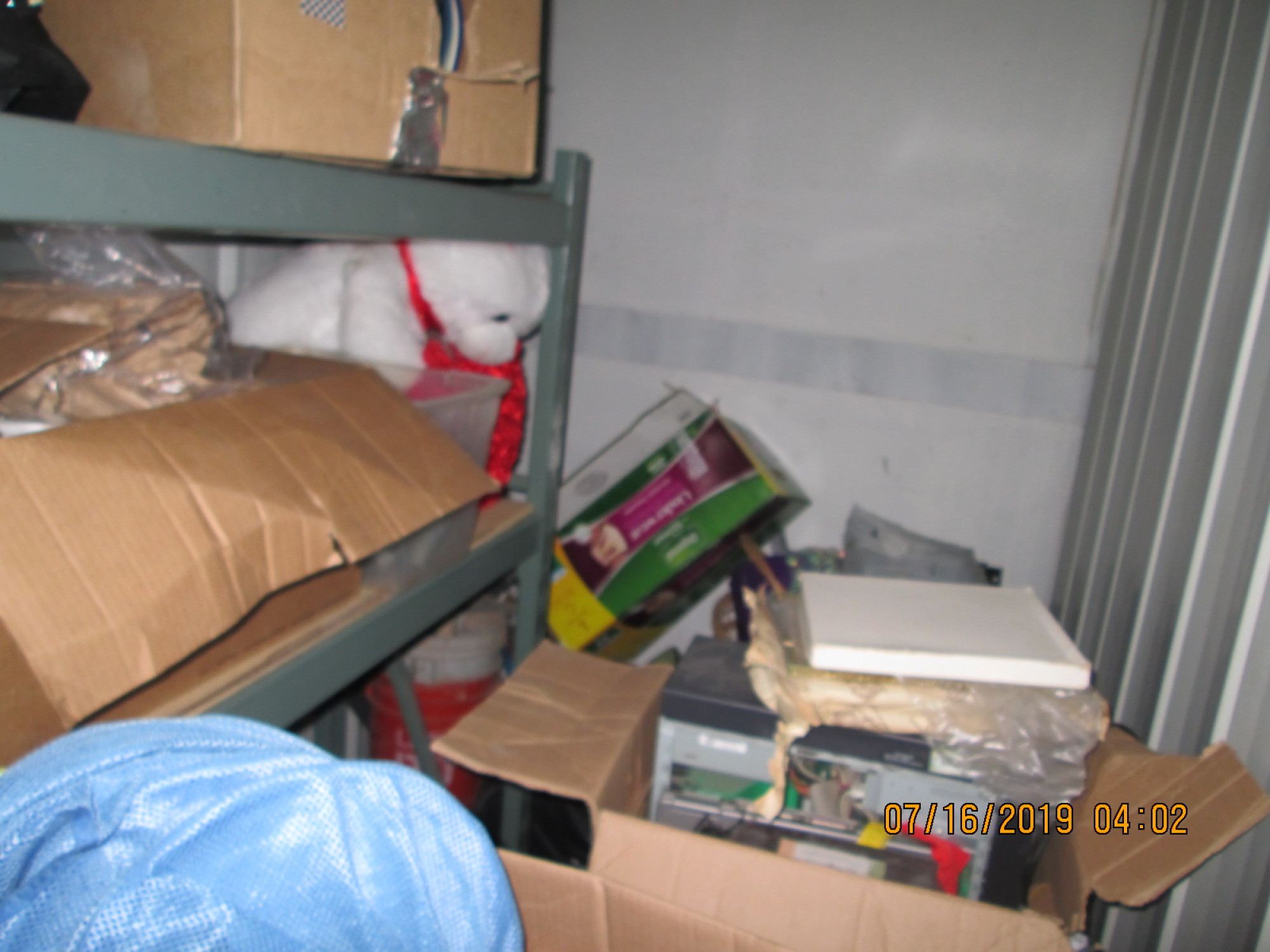 Storage Unit Auction 824367 Rancho Cucamonga Ca