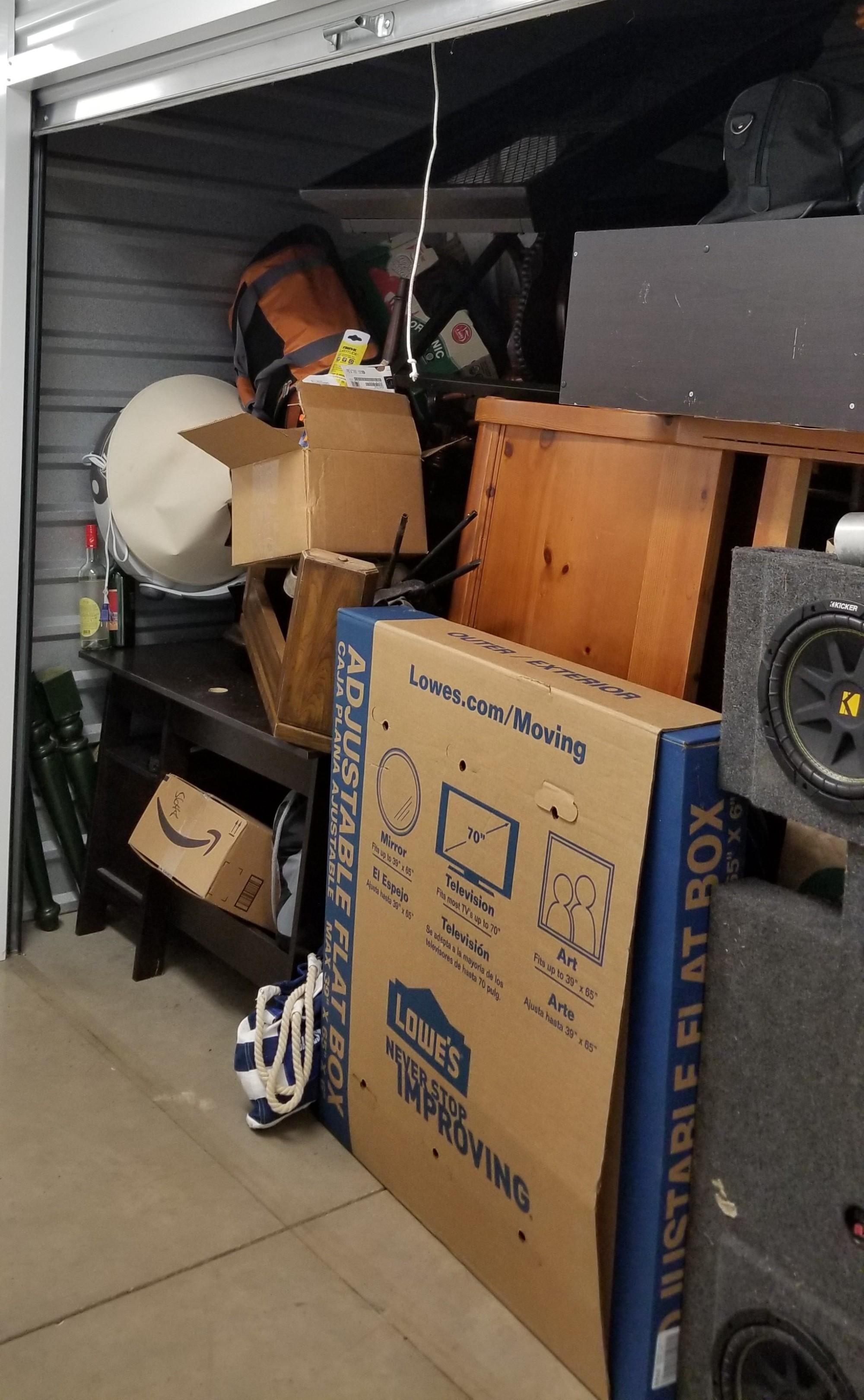 Storage Unit Auction 845222 Fort Worth Tx