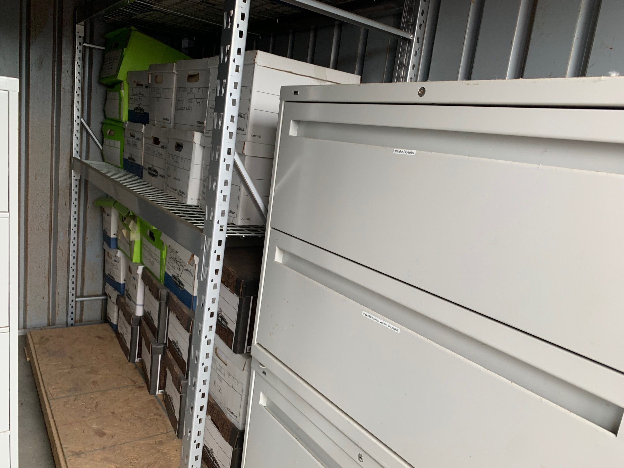 Storage Unit Auction 856411 Lakeville Mn