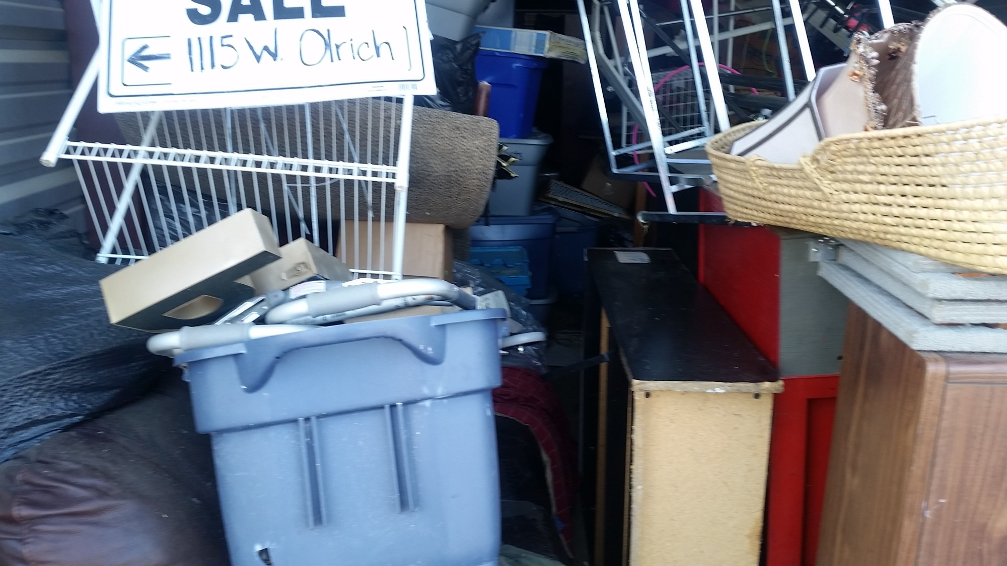 Storage Unit Auction 868484 Rogers Ar