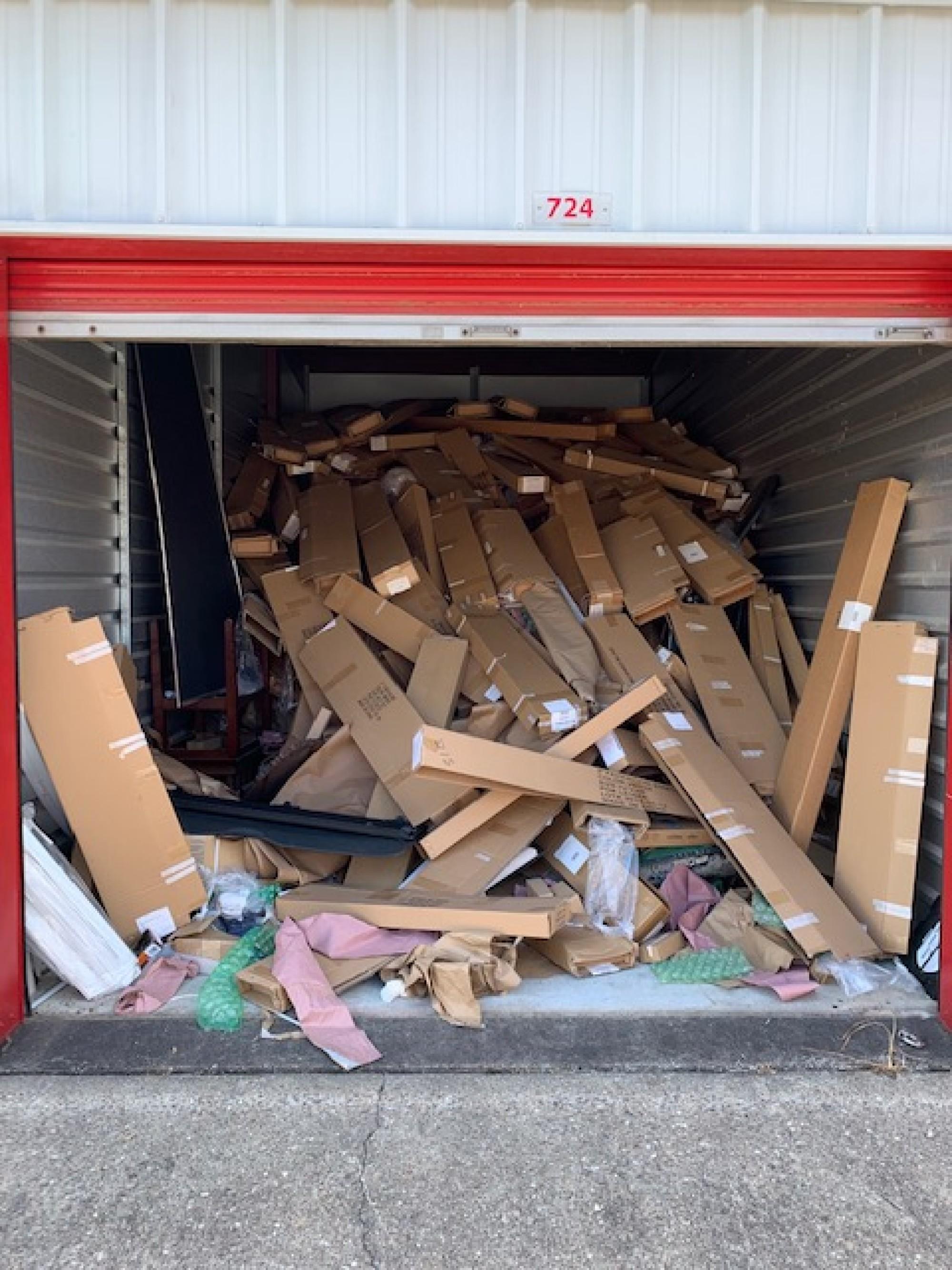 Storage Unit Auction 876126 Pasadena Tx