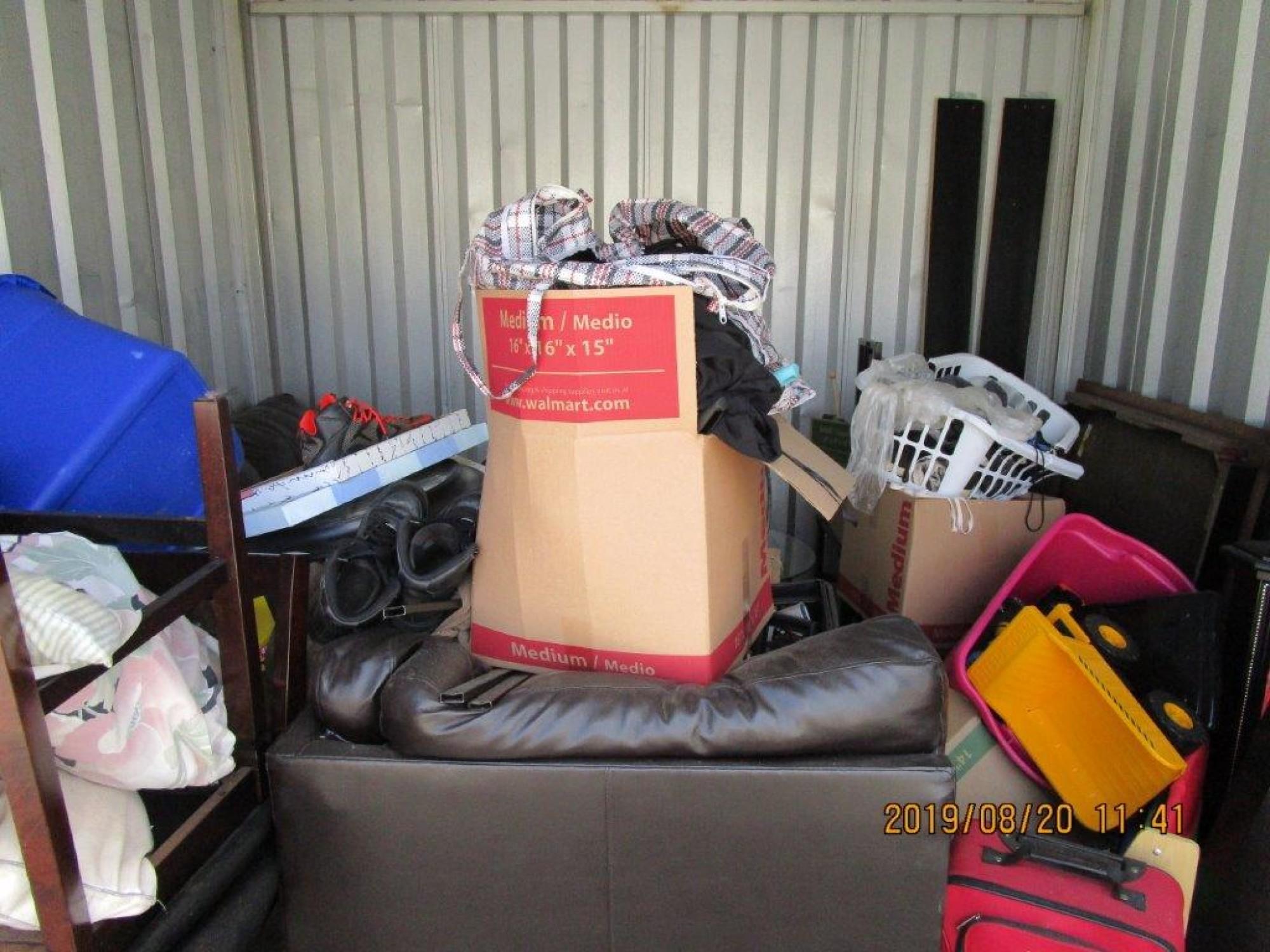 Storage Unit Auction 883808 Stone Mountain Ga