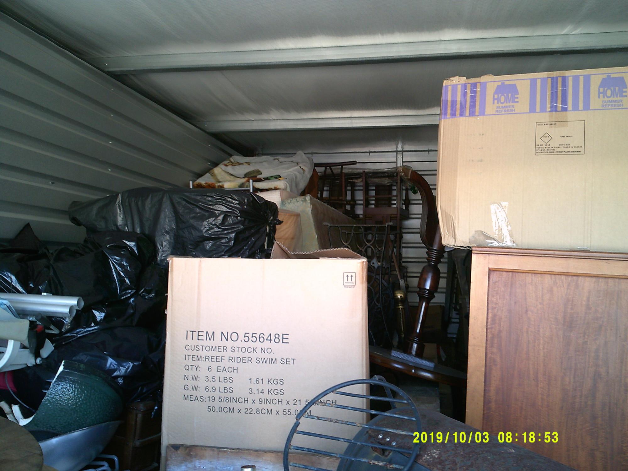 Storage Unit Auction 900343 Panama City Beach Fl