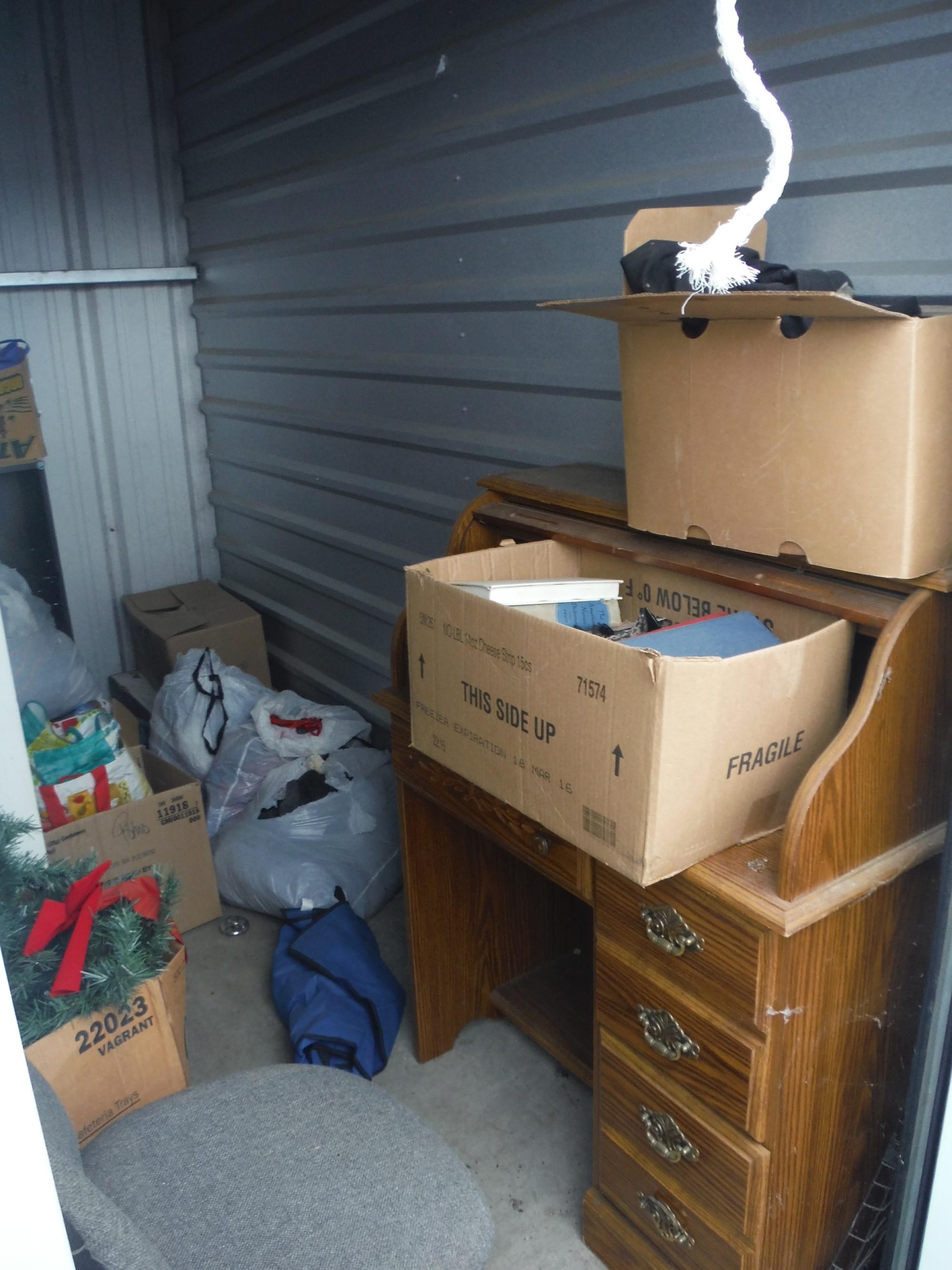 Storage Unit Auction 941479 Ukiah Ca
