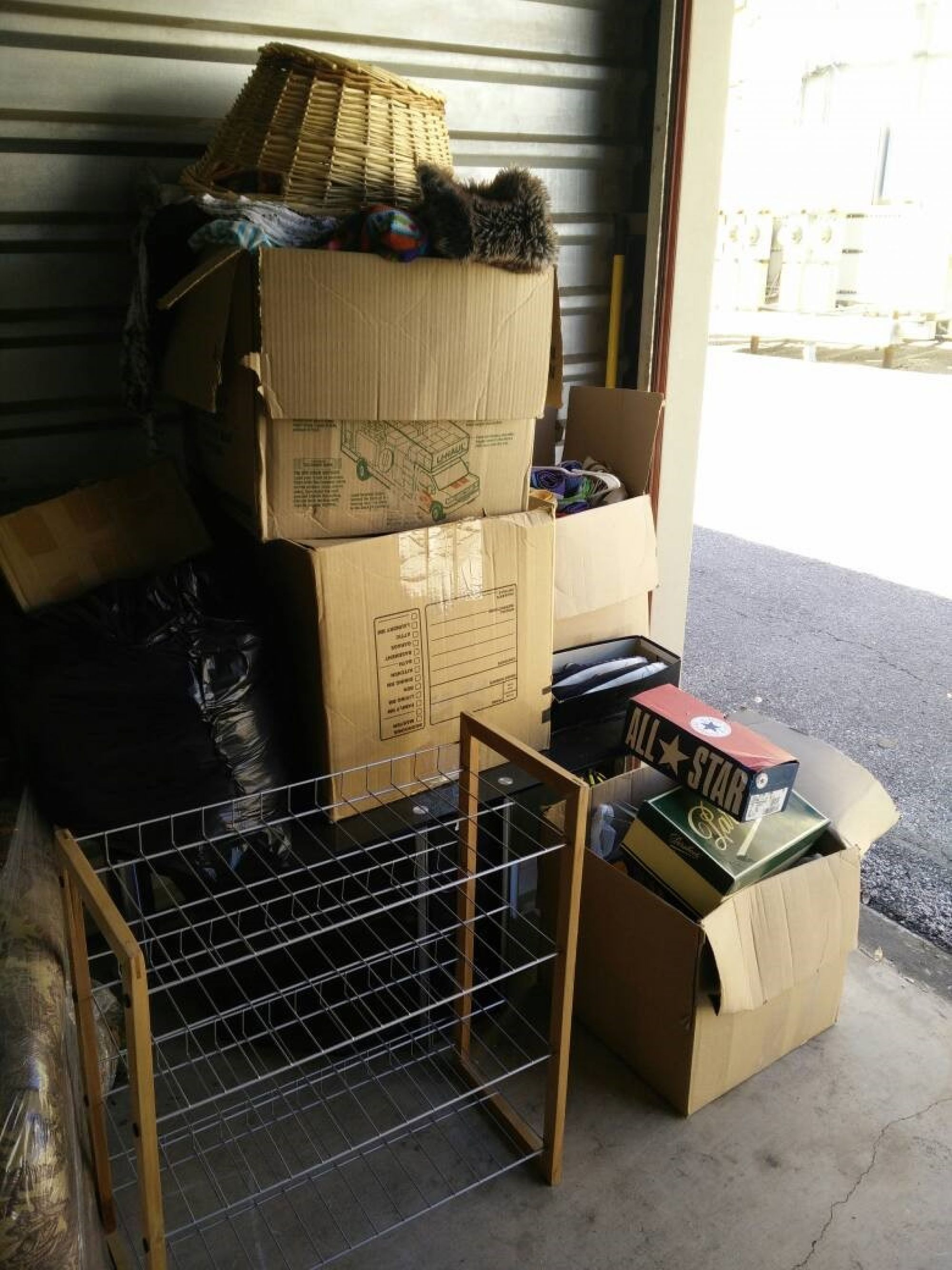 Storage Unit Auction 393946 San Antonio Tx