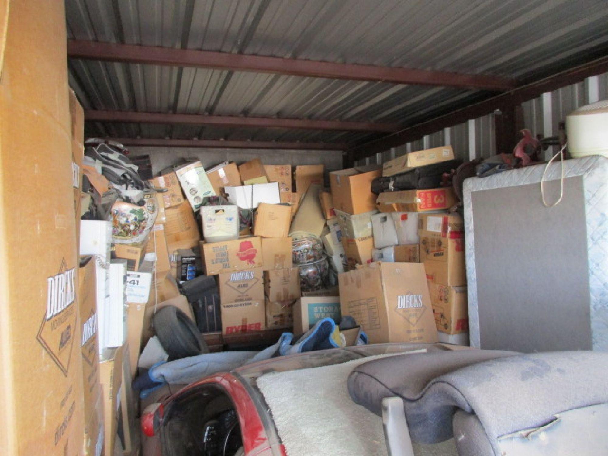 Hover or click & Storage Unit Auction: 429242 | Tempe AZ | StorageTreasures.com