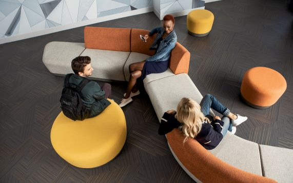 Huddle Room Furniture and Collaboration Tables are important office furniture elements being incorporated into Collaborative Workspace design today