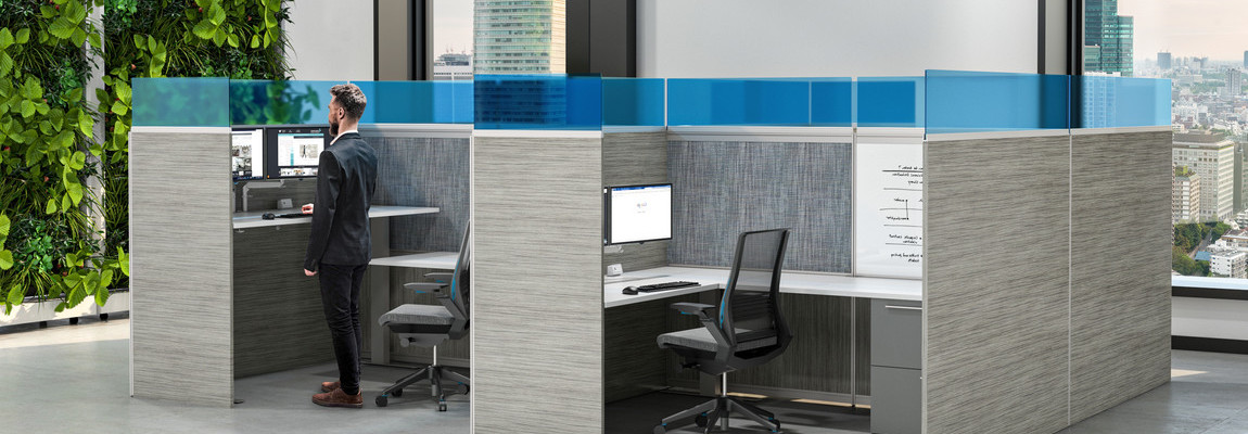 Social Distancing Barriers & Cubicles