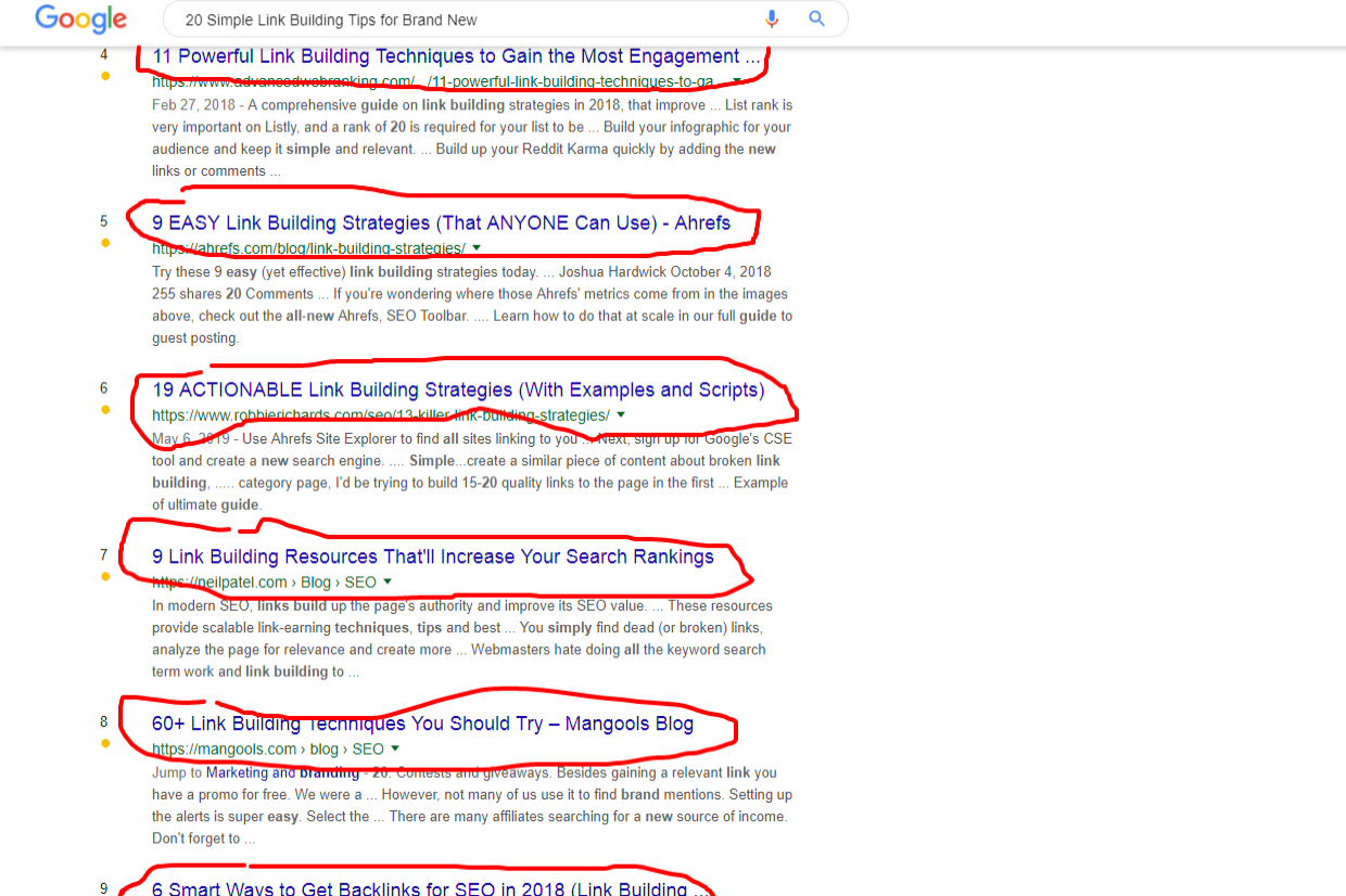 20 Simple Link Building - 20 best SEO Link building Tips for Increase DA and PA of new Websites