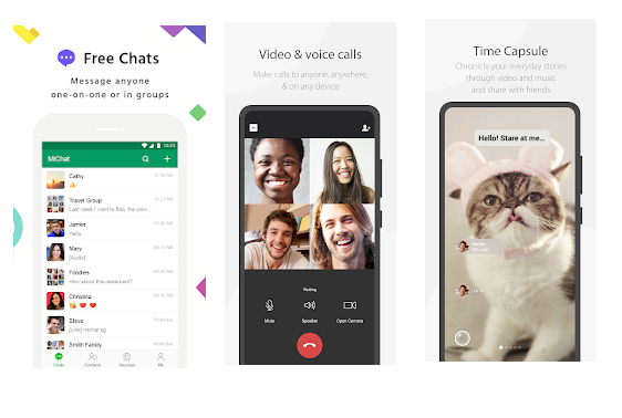 we chat.. 1 - Top 8 Popular Text Messaging Apps for IOS and Android