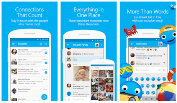 groupmee - Top 8 Popular Text Messaging Apps for IOS and Android