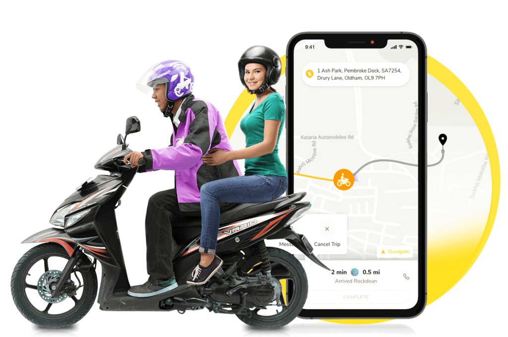 banner img 1 1024x679 - Developing a Motorcycle Taxi App: Learn how Gakoda became a Successful Bike Taxi Startup