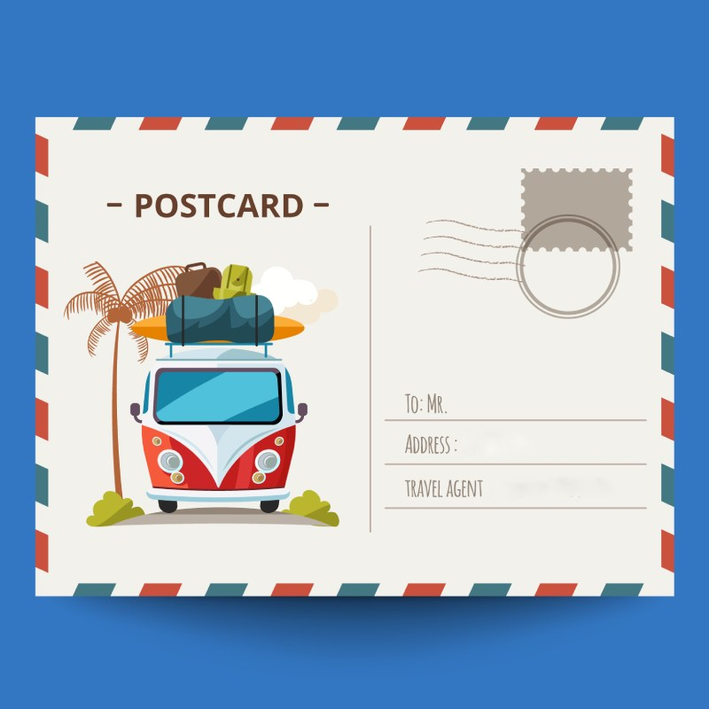 Postcard - Print Marketing Material that Hits the Market in 2020