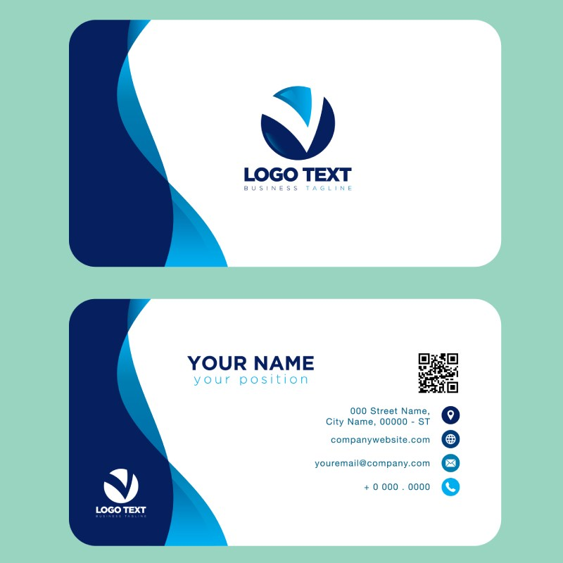 Business card 1 - Print Marketing Material that Hits the Market in 2020