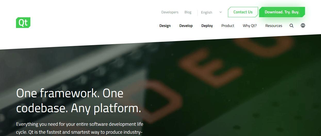Qt - 5 Best Cross-Platform Mobile App Development Tools