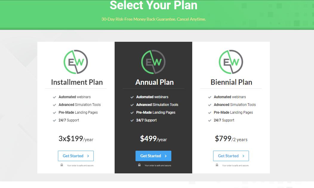 EverWebinar pricing - 14 Best Webinar Software Tools in 2021 (Ultimate Guide for Free)