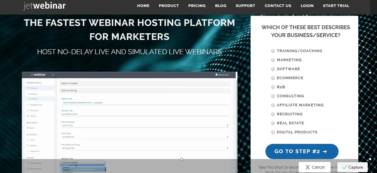 JetWebinar - 14 Best Webinar Software Tools in 2021 (Ultimate Guide for Free)