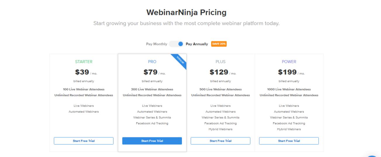 WebinarNinja Pricing - 14 Best Webinar Software Tools in 2021 (Ultimate Guide for Free)
