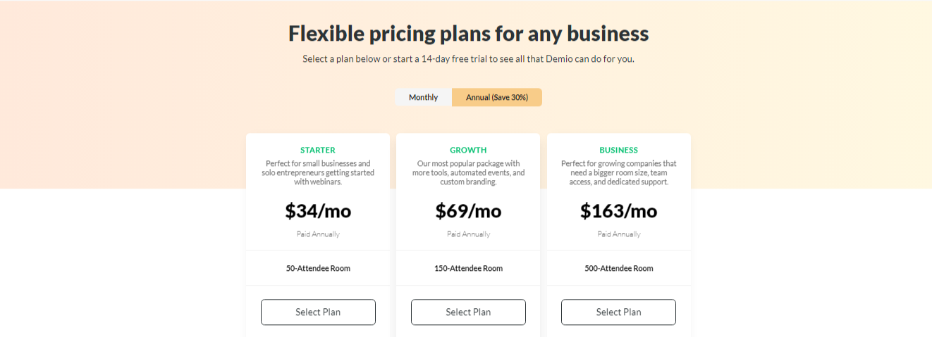 Demio Pricing - 14 Best Webinar Software Tools in 2021 (Ultimate Guide for Free)