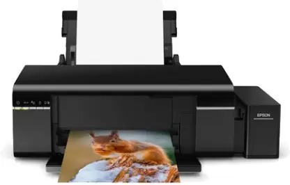 Epson L805 Single Function Wireless Ink Tank Colour Photo Printer - Top 7 Printer available in Market for Student and Office use