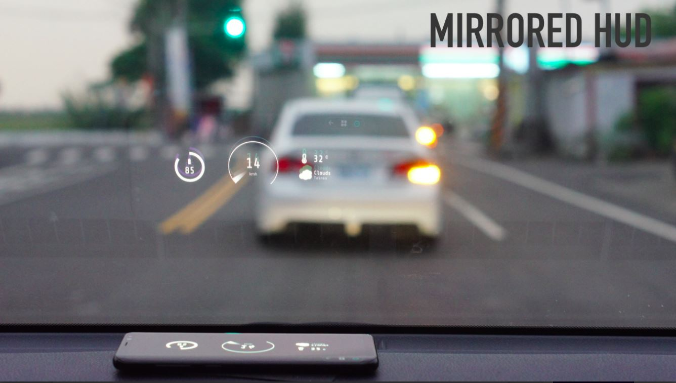 navier app - Heads Up Display (HUD): Drive Undistracted